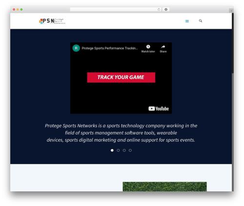 Betheme template WordPress - protegesportshq.com