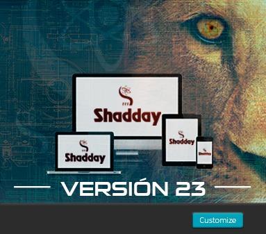Shadday777 WordPress website template