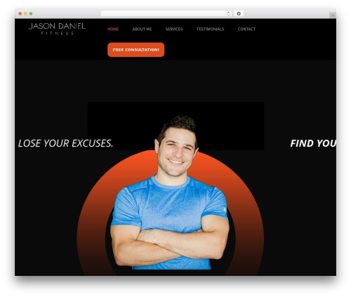 Theme WordPress Aslan - jasondanielfitness.com