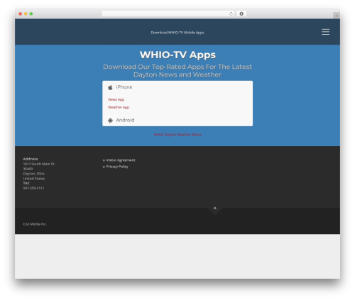 Applay WordPress shop theme - whioapps.com