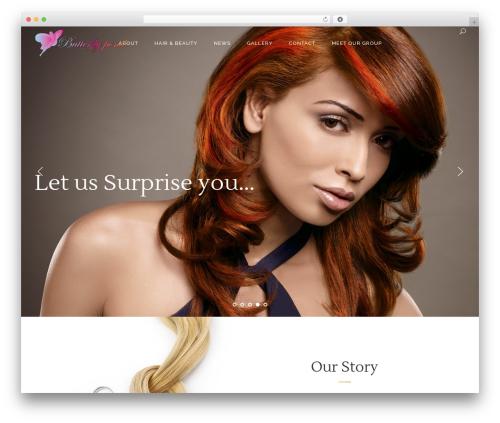 Kendall best WordPress theme - butterflypond.com