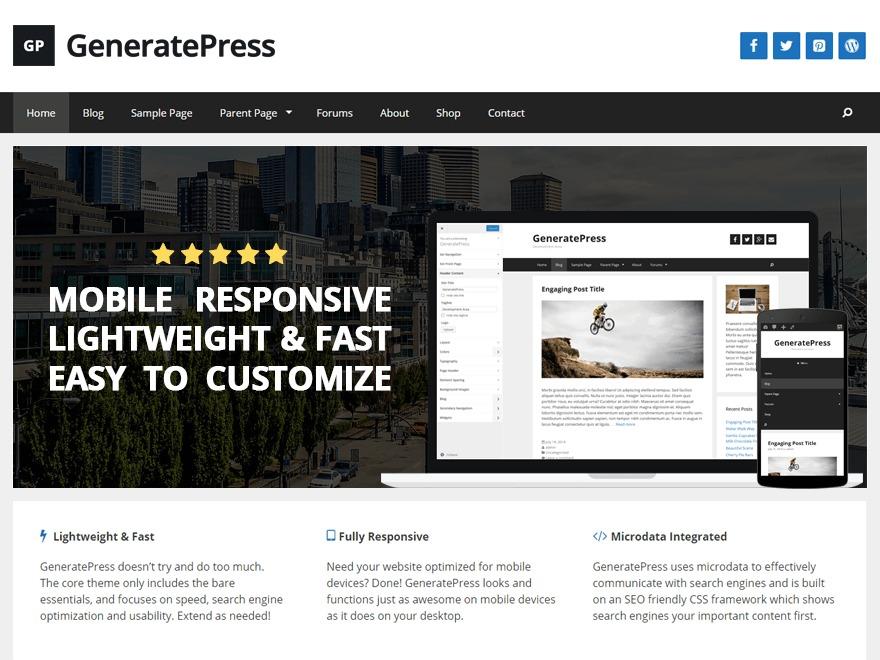 hikaridk by GeneratePress best WooCommerce theme
