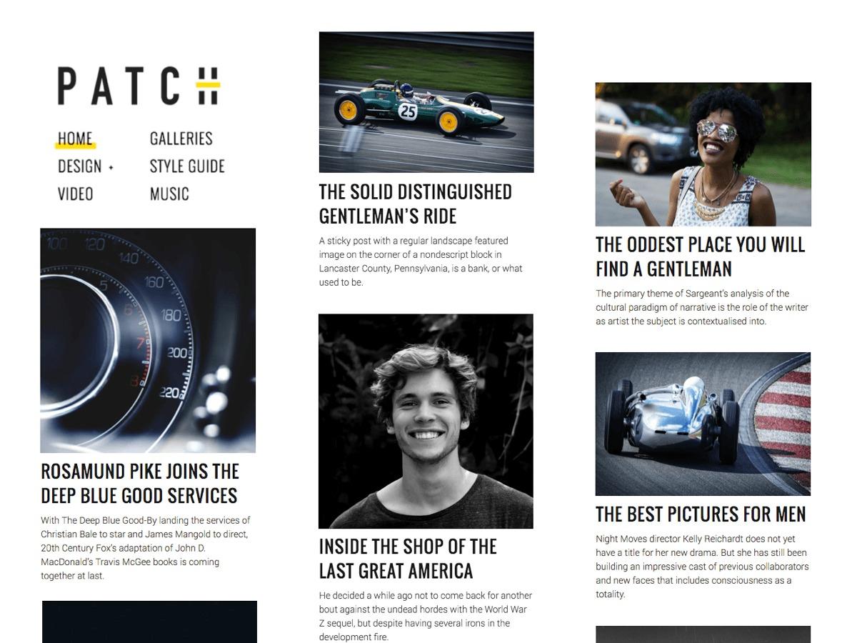 Patch Lite WordPress news theme