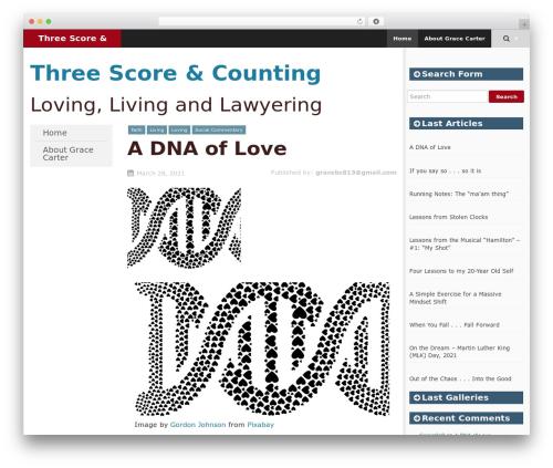SmartAdapt free WordPress theme - gracecarteronline.com
