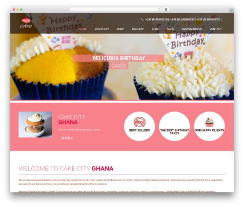 Template WordPress Coffee Pro - cakecityghana.com