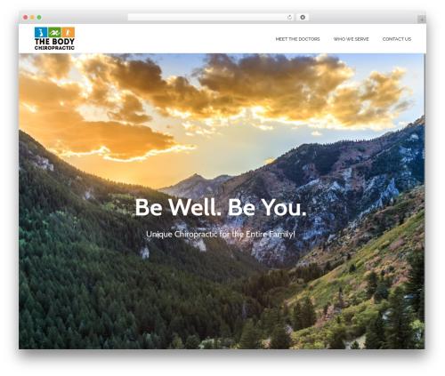Theme WordPress jupiter - thebodychiro.com