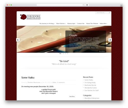 Best WordPress theme Chameleon - tjmaestranzi.com