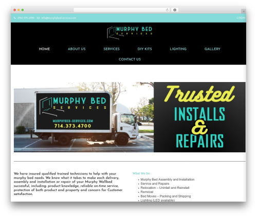 WP template WOOW - murphybed-services.com