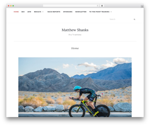 Activello WordPress theme free download - thematthewshanks.com
