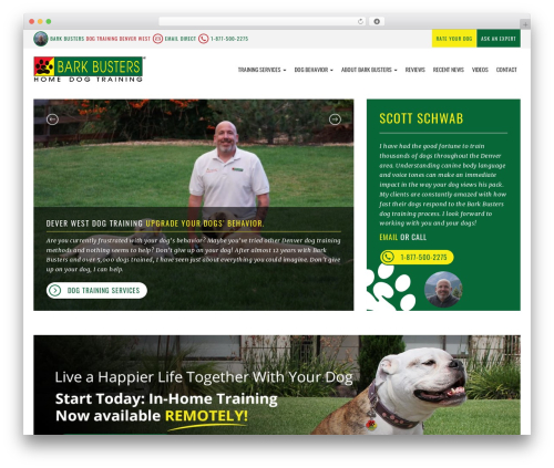 bigdogbroadcast2 theme WordPress - dogtrainingdenverwest.com