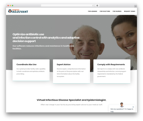 Movedo WordPress theme - antibioticadjuvant.com