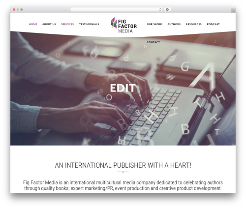 Theme WordPress EXO Theme - figfactormedia.com