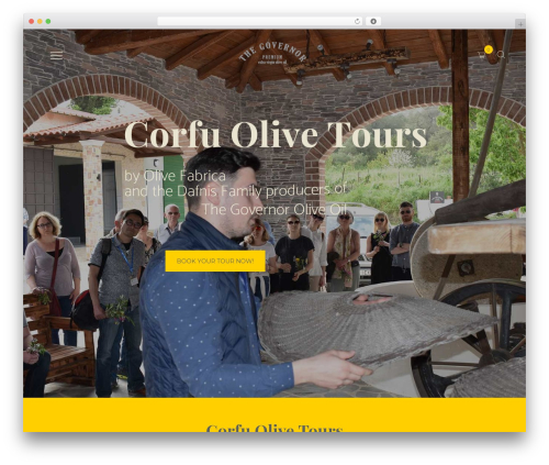 WP theme OliveOil - corfuolivetours.com
