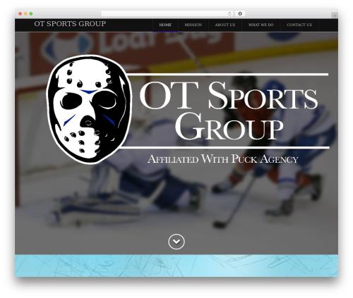 X WordPress theme - otsportsgroup.com