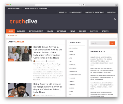 Free WordPress Contact Form plugin - truthdive.com