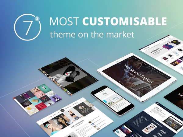 Best WordPress template The7