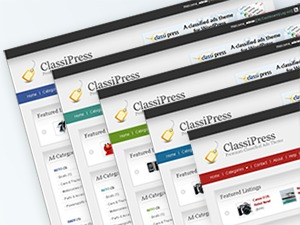 ClassiPress best WordPress template