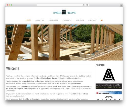 Customizr WordPress template free download - timberframeinspain.com