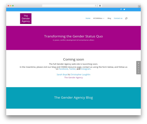 WordPress divi-article-cards plugin - thegenderagency.org
