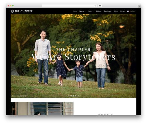 Eram WordPress theme image - the-chapter.com