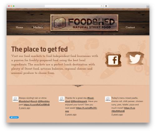 Free WordPress Snazzy Maps plugin - foodsheduk.com
