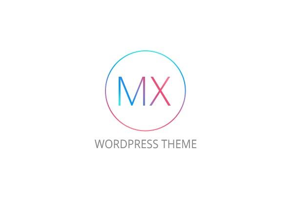 MX (shared on wplocker.com) WordPress theme design