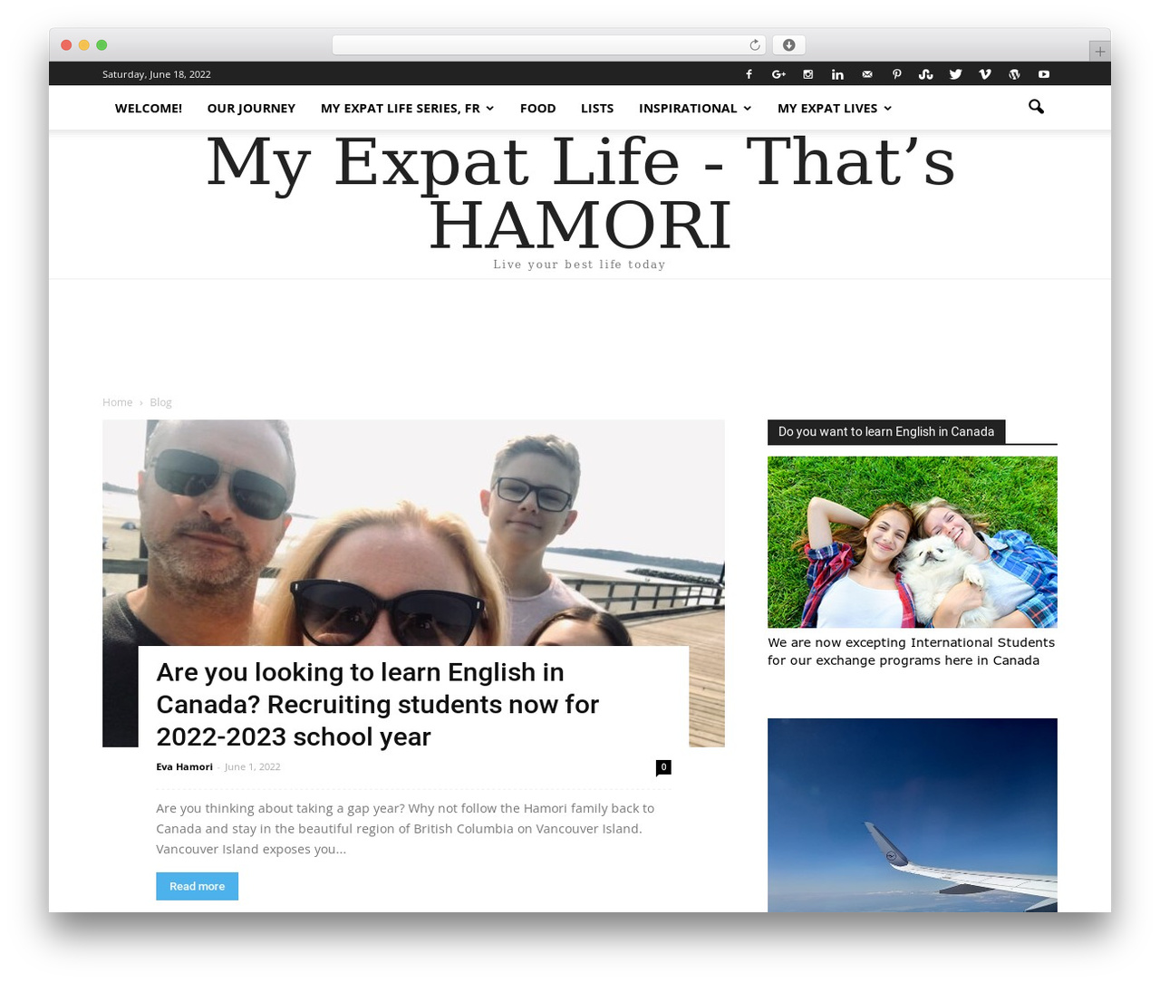 Newspaper best WordPress magazine theme - thatshamori.com