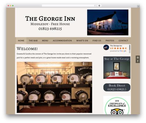 Nirvana theme WordPress - thegeorgeinnmiddlezoy.co.uk