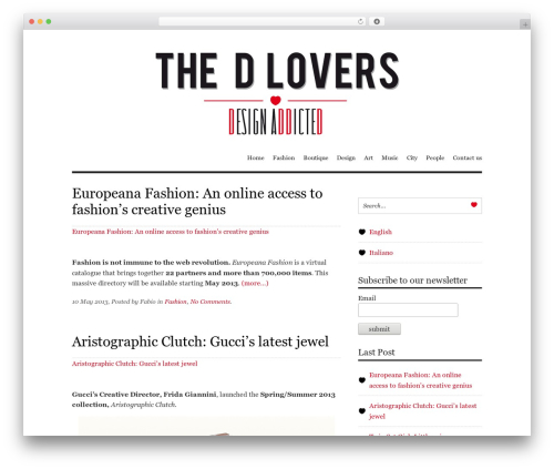 Free WordPress Social Connect plugin - the-d-lovers.com