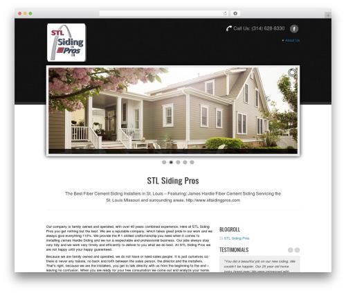 Template WordPress Sleeky - thesidingguru.com