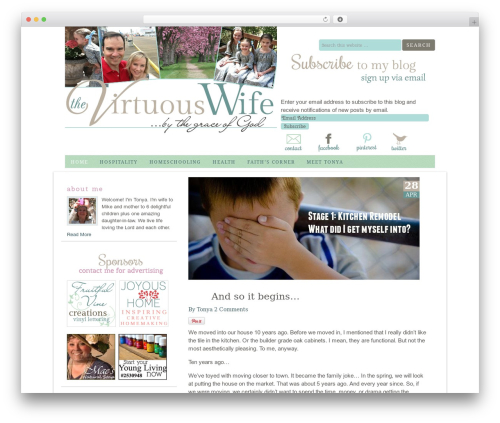 WordPress my-pinterest-badge plugin - thevirtuouswife.com