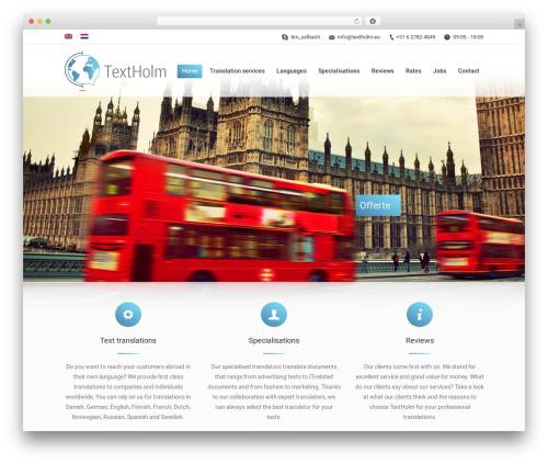 The7.2 WordPress theme - textholm.eu