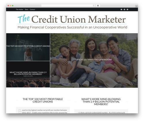Theme WordPress Birch - thecreditunionmarketer.org