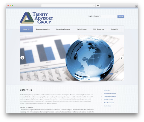 Theme WordPress theme1626 - trinityadvisorygroup.com