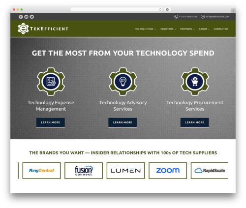Theme WordPress Versatile - tekefficient.com