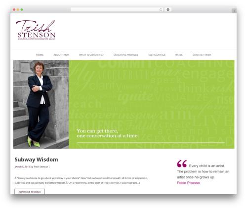 Tribute theme WordPress free - trishstenson.com
