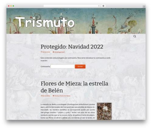 Twenty Thirteen theme WordPress free - trismuto.com