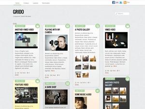 WordPress theme Grido