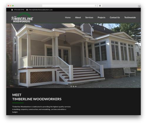 WordPress theme jupiter - shared on wplocker.com - timberlinewoodworkers.com