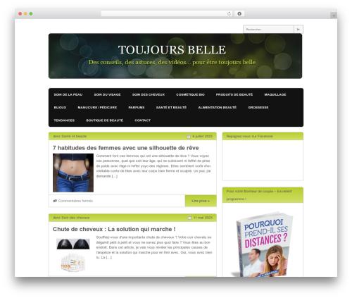 Yume Tan WordPress theme - toujours-belle.com