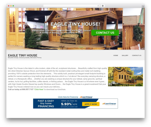 SKT White best WordPress template - eagletinyhouse.com