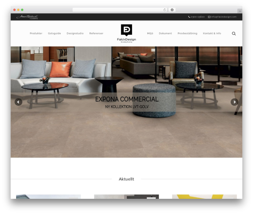 WP template Atelier - falckdesign.com