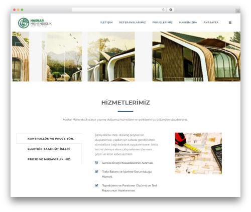 WP template Craftsman Construction - haskarmuhendislik.com