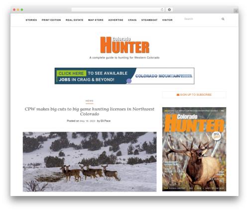Activello best free WordPress theme - cohunter.com