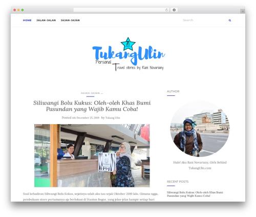 Activello WordPress theme design - tukangulin.com