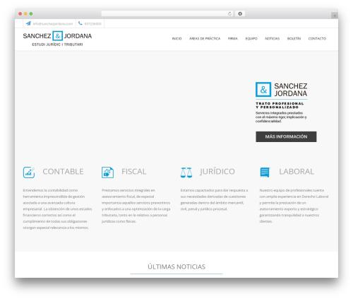 Best WordPress template Law Rex - sanchezjordana.com
