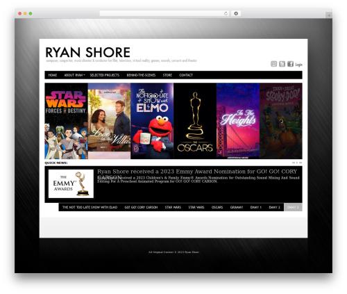 Innovation+Science WordPress theme - ryanshore.com