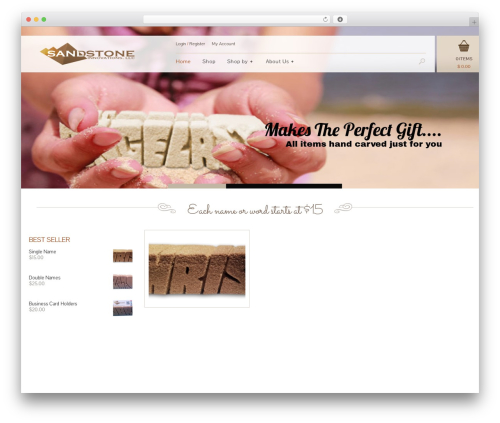 Jewelry Shop best WordPress theme - sandstoneinnovations.com