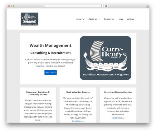 Theme WordPress Responsive - curryhenrygroup.com