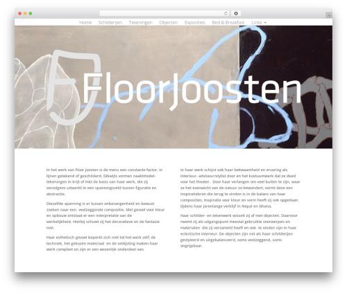 WordPress theme Divi - floorjoosten.com